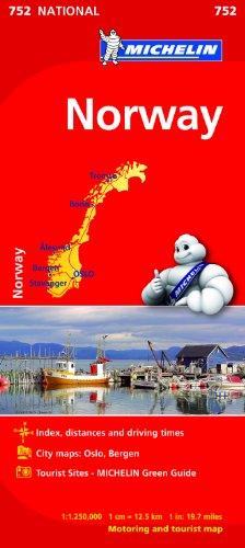 Mapa National Noruega (Mapas National Michelin)