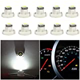 WLJH 10x White T4.2 Neo Wedge Led 3030 Chipest 10mm Base Led Car
