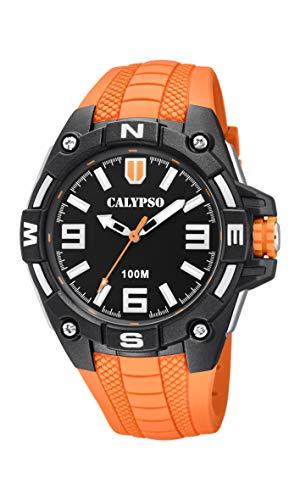 Calypso Watches Reloj Analógico para Hombre de Cuarzo con Correa en Plástico