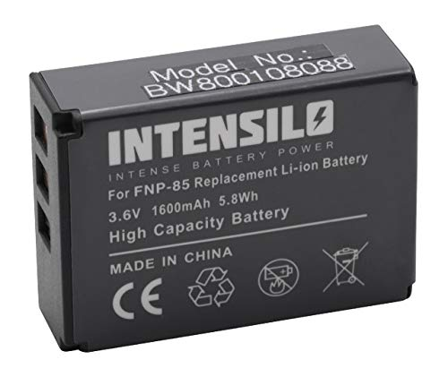 INTENSILO Li-Ion Akku 1600mAh (3.6V) für Videokamera Camcorder Digipo Aiptek 084-07042L-062, AHD 2, AHD H23, CB-170 wie NP-85, CB170, PA3985.