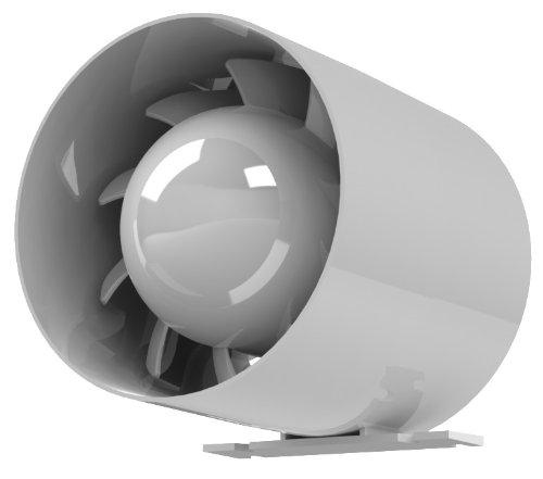 Kanal Rohrventilator Rohreinschub Abluft Lüfter Rohr Ventilator Leise Ø 150 mm 15 cm Rohrlüfter 20W - 257m³