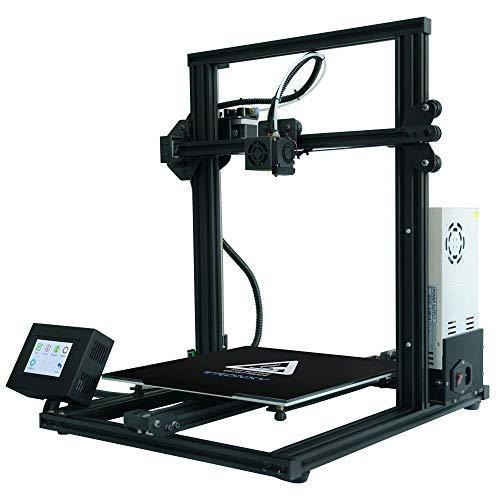 SMGPYDZYP Imprimante 3D, imprimante 3D, Base métallique Flexible Heat-Bed Power Failure Resume Printing Home Mini DIY Education Home 3D Printer