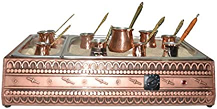 Sudamlasibazaar - Turkish Sand Coffee 28,75 inches, Copper Sand Brewer Machine, Turkish Coffee Machine, Coffee on Sand, Re...