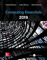 Computing Essentials 2019, 2nd Edition Front Cover