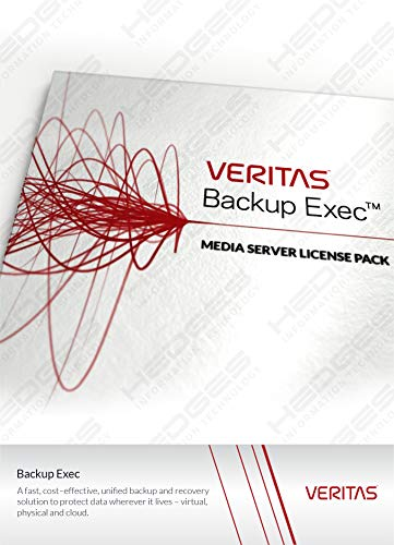 Veritas Backup Exec 16 Server Win Server 1J Basic DVD