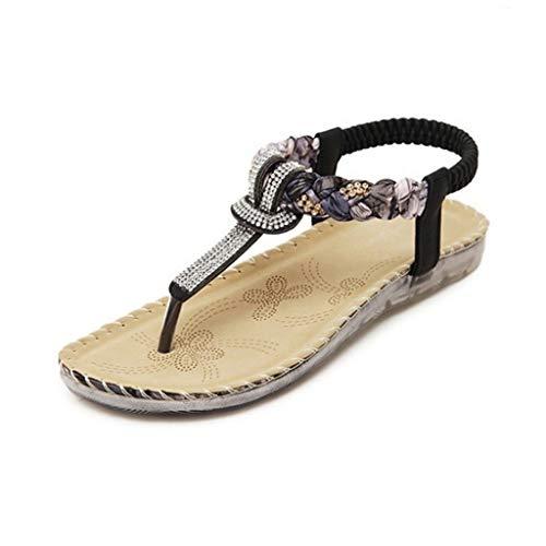 WZHZJ Women Sandals Women Casual Shoes Sexy Beach Summer Girls Flip Flops Fashion Cute Women Flats Sandals (Size : 5code)