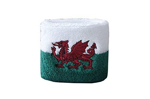 Flaggenfritze® Schweißband Wales, 2er Set