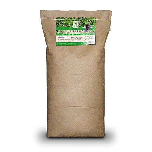 Mühldorfer Sustituto básico o de Cebo para Caballos Deportivos y de Ocio, Libre de Polvo y Fibra, Luzerne melassiert, 15 kg