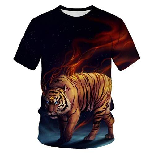 Animal Tiger On Fire Mantel 3D Rectangular Cuadrado Plegable Cubierta De Mesa...