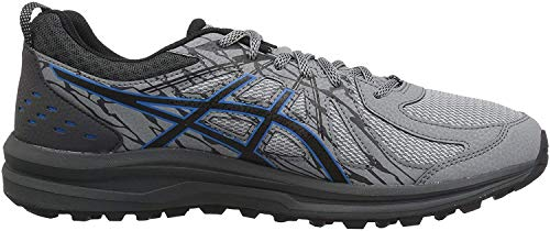 ASICS Men's Frequent Trail Running Shoes, Stone Grey/Stone Grey, 10.5