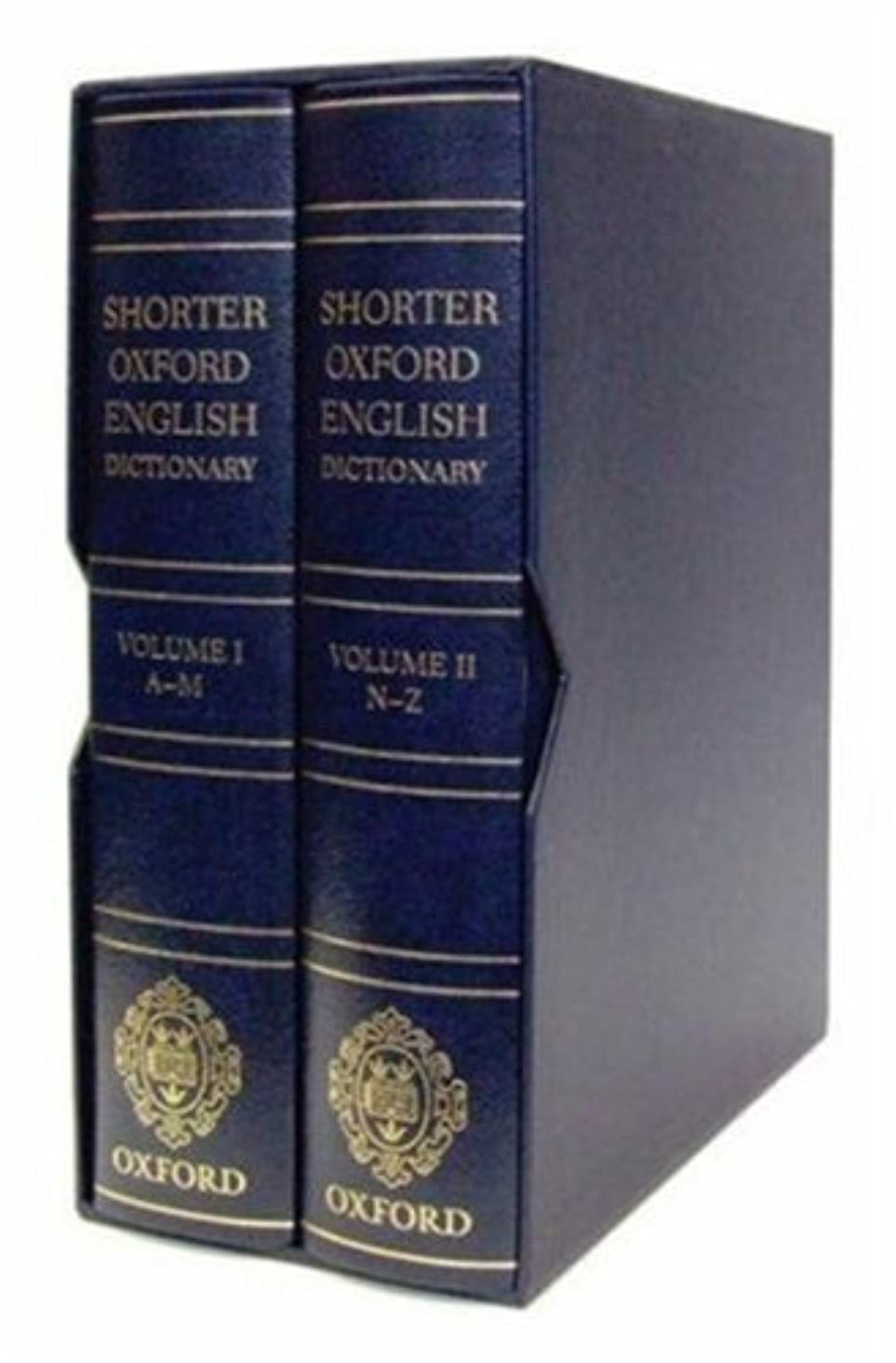 Shorter Oxford English Dictionary (Leather Bound): 6th (Sixth) Edition