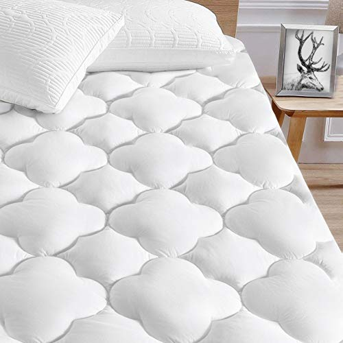 SERWALL Cooling California King Mattress Pad Waterproof...