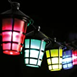 Zoom IMG-1 lanterne colorate assortite a striscia