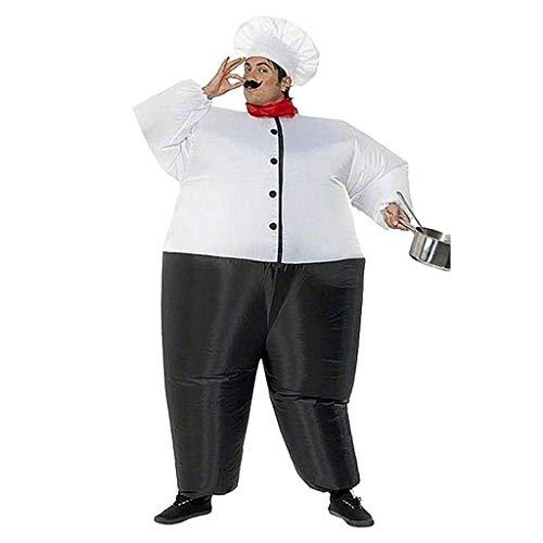 diubcucy Sumo Wrestler Kostüm Cosplay Lustiger Koch Aufblasbare Anzüge Halloween Party Kleid Kleidung für Erwachsene