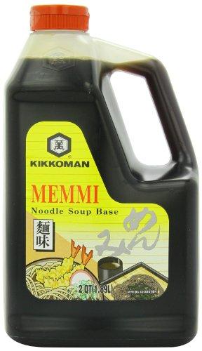 Kikkoman Memmi Noodle Soup Base, 64 Ounce