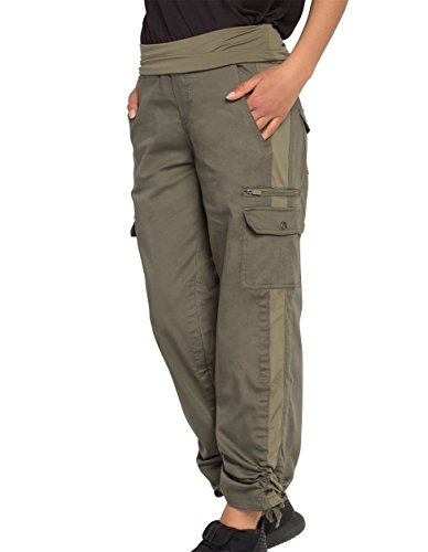 SCOTTeVEST Margaux Cargaux Travel Pants -11 Pockets- Travel Cargo Pants OLV M Olive