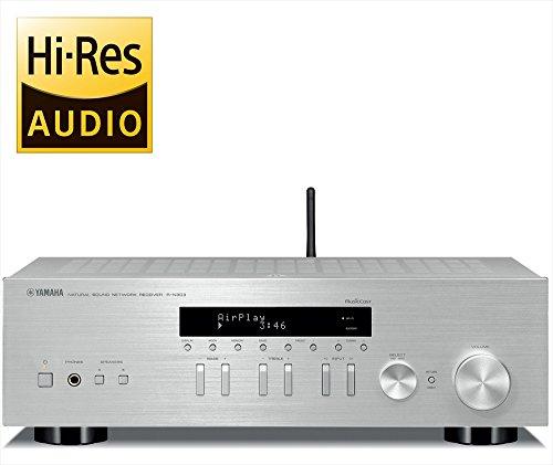 ヤマハ ネットワークレシーバー ワイドFM/AMチューナー/Wi-Fi/Bluetooth/ハイレゾ音源対応 シルバー R-N303(S)