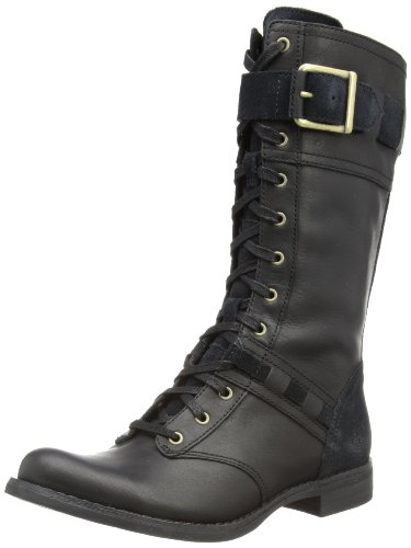Hot Sale Timberland Women's Savin Hill Mid Lace Boot,Black,7.5 M US