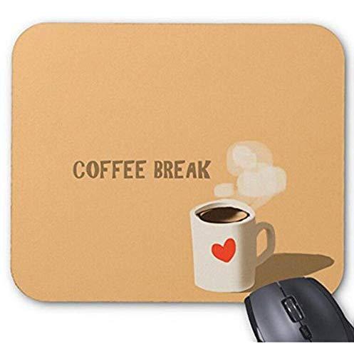 Mauspad, Motiv: Kaffeepause