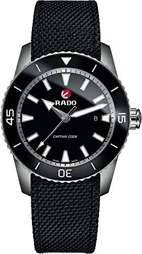 Rado HyperChrome Capitán Cook Reloj automático para Hombre, Esfera Negra, R32501156