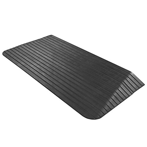 Silver Spring Solid Rubber Threshold Ramp - 2-1/2