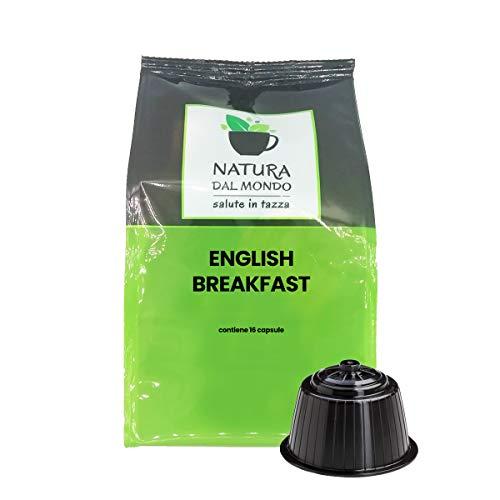 80 capsulas compatibles Dolce Gusto - Tè English Breakfast