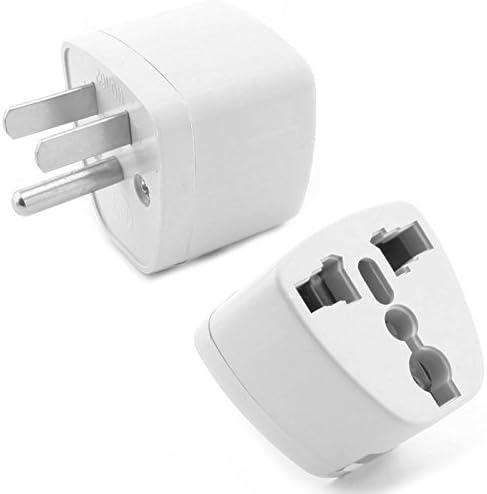 axGear EU AU UK to US USA Canada Travel AC Power Plug Adapter Converter