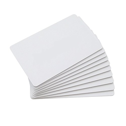 CHIPDRIVE Time Recording User Card (Mitarbeiter-Chipkarten) Touch&Go RFID - blanko - weiß (10 Stück)