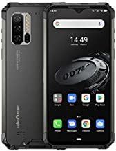 Ulefone Armor 7E(2020) Rugged Smartphone - 4GB RAM +128GB ROM, 48MP +16MP Camera, 6.3-inch FHD+ Screen Android 9.0 IP68 Mobile Phone, 5500mAh Battery, Qi 10W Wireless Charge (Black)