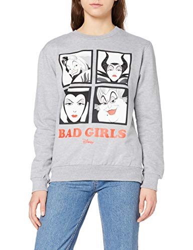 Disney Bad Girls Sweatshirt Maillot de survtement, Gris (Sport Grey SPO), XL Femme