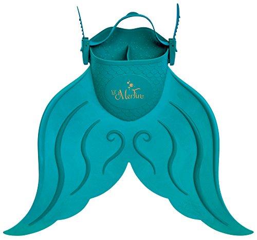 Mahina Mermaid Li'l MerFin Swim Mono-Fin (Aqua)