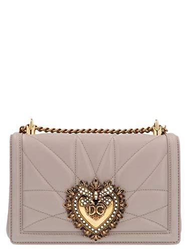 Luxury Fashion | Dolce E Gabbana Donna BB6652AV9678H062 Beige Borsa A Spalla | Autunno Inverno 19