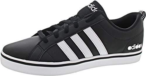 Adidas Vs Pace, Zapatillas para Hombre, Negro (Core Black/Footwear White/Scarlet 0), 43 1/3 EU