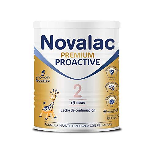 NOVALAC Proactive 2 - Leche Infantil de Continuación a Partir de Los 6 Meses, 800 Gramos