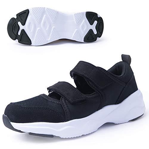 Women's Comfortable Working Nurse Shoes Non-Slip Adjustable Breathable Walking Buffer Fitness Casual Nursing Orthotic Lightweight Shoes Arthritis, Diabetes Heel Pain, Foot Pain, Plantar Fasciitis43B