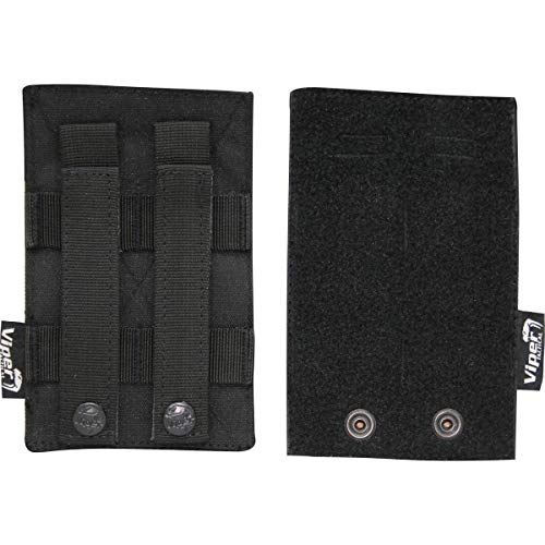 Viper TACTICAL Modular - Verstellbares Klett-MOLLE-Panel für ID-Patches - Schwarz