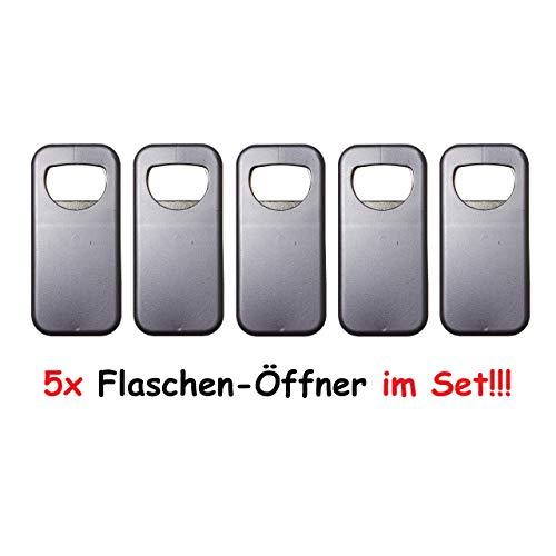 1a-becker 5X Flaschenöffner Bieröffner Kronkorken Kapselheber Flaschen Öffner Metall Kunststoff
