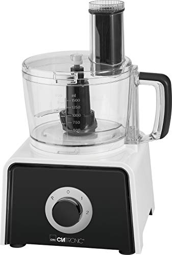 Clatronic KM 3645 7in1 Küchenmaschine, 600 W, 4 Geschwindigkeitsstufen