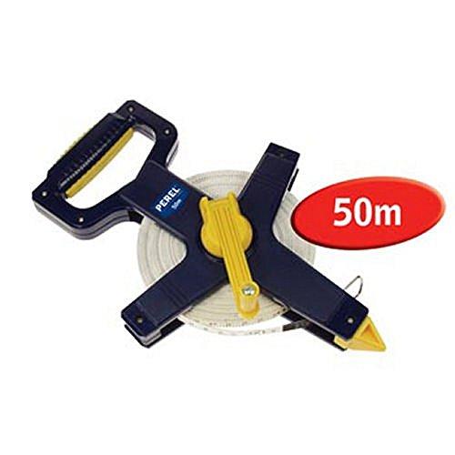 PEREL - HFMT50 Maßband aus Glasfaser 50Meter blau 142761