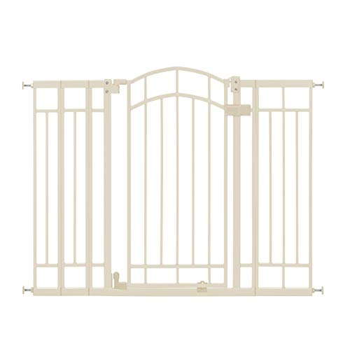 Summer Multi-Use Deco Extra Tall Walk-Thru Gate, Beige (28.5 - 48 Inch)