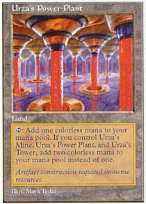 Magic The Gathering - Urza39;s Power Plant - Fifth Edition