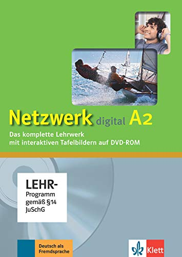 Netzwerk A2: Deutsch als Fremdsprache. Digitales Unterrichtspaket, DVD-ROM (Netzwerk: Deutsch als Fremdsprache)