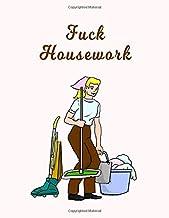 Fuck Housework: Organized Household | Spring Cleaning | Housework Chores | Housekeeping Organizer | Clean House Planner | ...