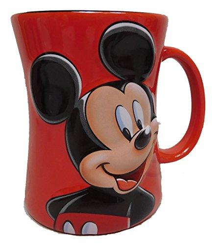 Disney Kaffeetasse Tasse Mug Pott Kaffee Disneyland Paris Mickey Mouse erhaben
