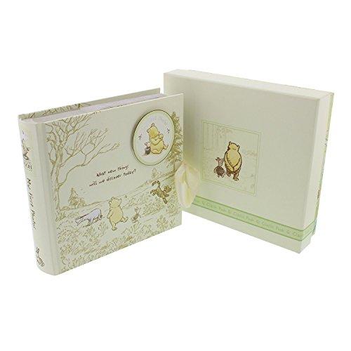 Pooh Classics Range WBM-GFT45 Disney Classic Winnie Puuh D1165 Fotoalbum für Babys, transparent, 200 g