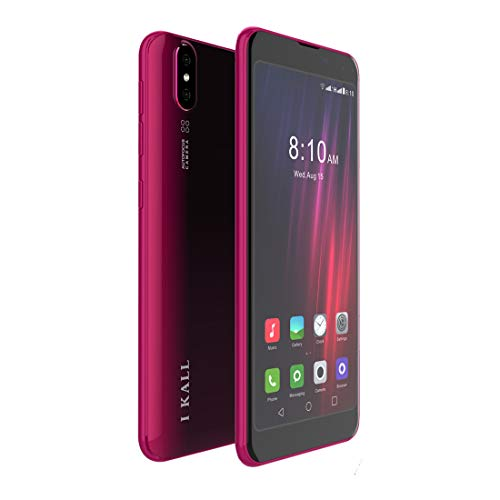 I Kall K8 Smartphone (2GB, 16GB) (Red)