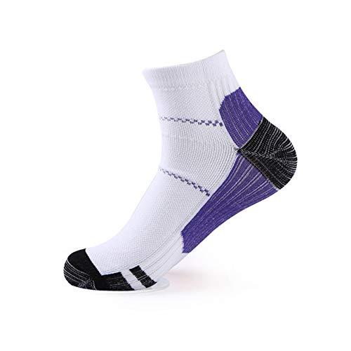 yinyinpu calcetines antideslizantes hombre calcetines ciclismo hombres Los hombres Calcetines Ankle Calcetines Hombre Hombre Calcetines de tobillo purple,sm