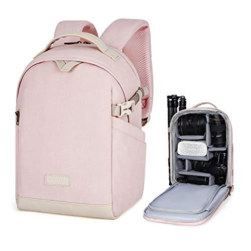 bagsmart BAGSMRT Kameratasche Fotorucksack DSLR Kamerarucksack Wasserabweisend für Frauen