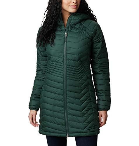 Columbia Powder Lite Mid Jacket - Chaqueta para mujer, diseño de abeto, talla XS