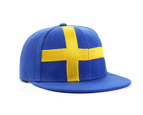 Underground Kulture Schweden Blau Snapback Baseballmütze